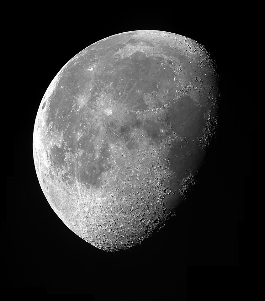 Moon with a C8