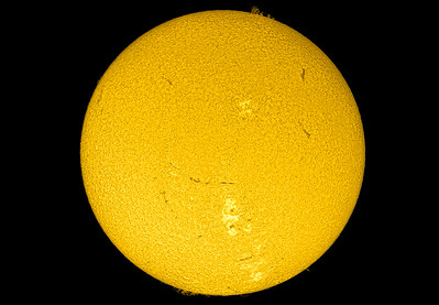 Sun with Prominences