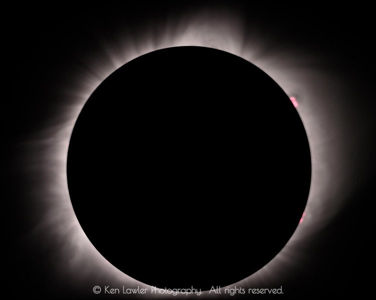 Corona and prominences
