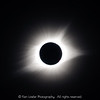 Total eclipse and star