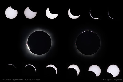 Total Solar Eclipse 2016 - Ternate Indonesia