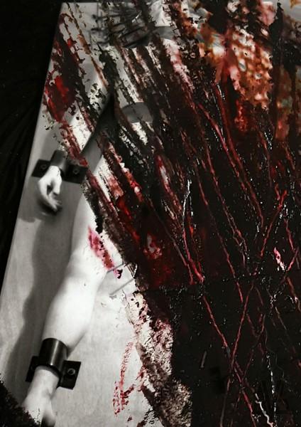 Blood Dried Black