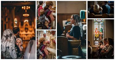 catholic motherhood collage