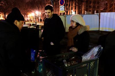Les nuits solidaires des Restos du cœur de Paris