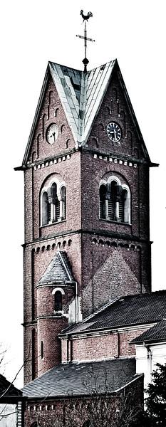 Katholische Pfarrkirche St. Katharina - Grundsteinlegung 1831 - Solingen 2012