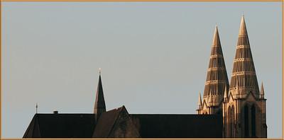 Katholische Stadtkirche St. Clemens - Grundsteinlegung 1891 - Solingen 2009