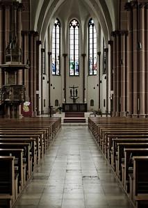 Katholische Stadtkirche St. Clemens - Grundsteinlegung 1891 - Solingen 2012