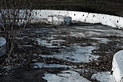 Freibad Aufderhöhe - stillgelegt 1991 - Planschbecken Solingen 2012