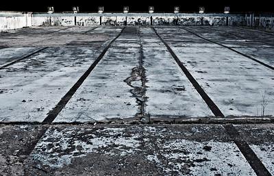 Freibad Aufderhöhe - stillgelegt 1991 - Schwimmerbecken Solingen 2012