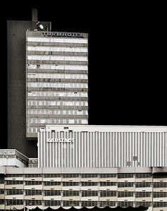 Turrmhotel, Karstadt + Parkhaus - Blick von Norden - Solingen 2009