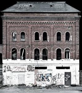 Ehemaliges Gebäude Brauerei Beckmann - Solingen 2012