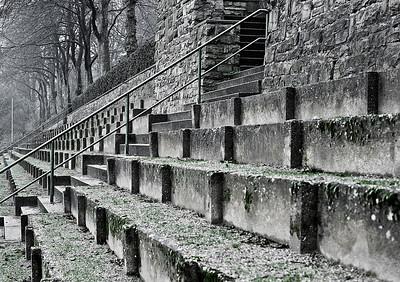 Walder Stadion (Jahnkampbahn), fertig gestellt 1928 - Solingen 2012