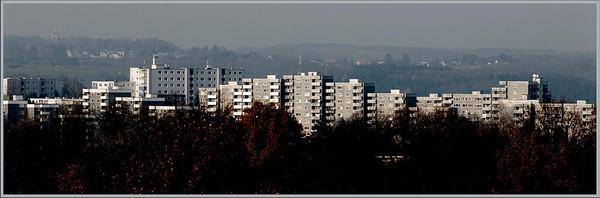 Hasseldelle von Süden (Theegarten) - Baujahr 1973/74 - Solingen 2008