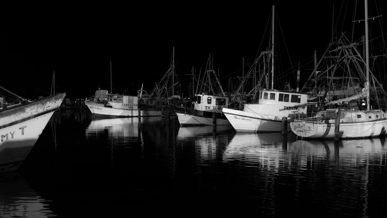 Rockport Oysterfest Night Boats