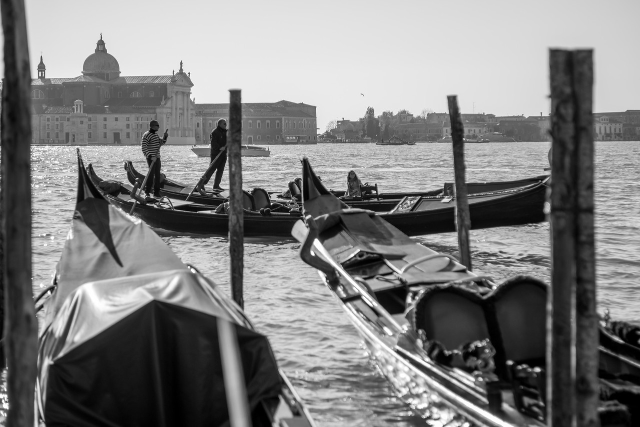 Venice Gondola Friends