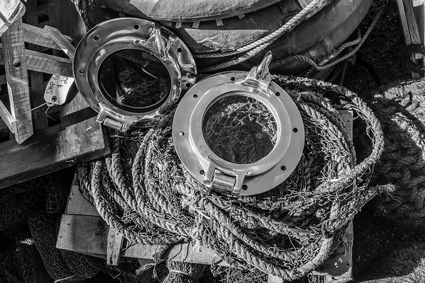 Port Holes and Rope