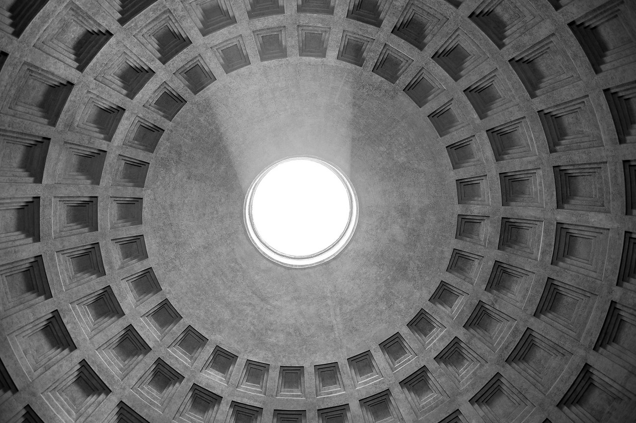 Rome Patheon Ceiling