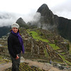 Louise at Machu Picchu in Peru, July 2011