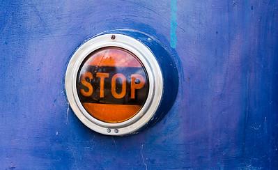 Stoplight On Streetcar