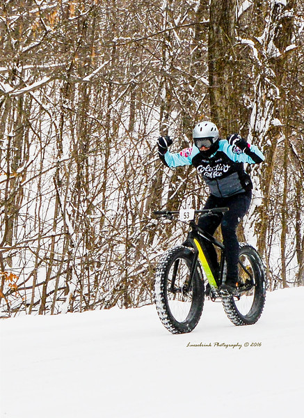 St. Croix Falls Fat Tire Chase in Dec 2016