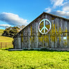 peace barn-clouds