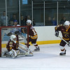 #6 Richard Lawson showed he could balance the puck on the end of his stick