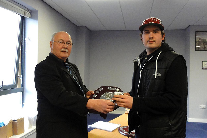 Solway Sharks Supporters Player of the Year - Nathan Salem