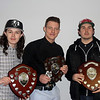Solway Sharks Player of the Year Awards Winners- Stevie Moore, Craig Mitchell and Nathan Salem