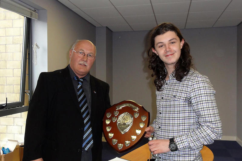 Solway Sharks Most Improved Player - Stevie Moore