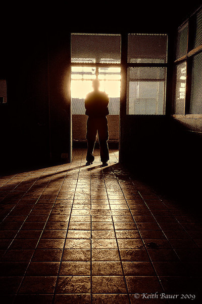 Guard from the Past - Abandoned NM Penitentiary