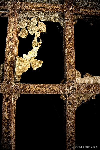 Shattered Glass - Abandoned NM Penitentiary