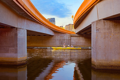 KAYAKING ON THE YARRA