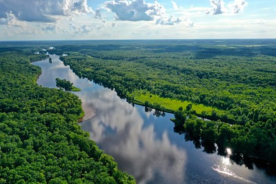St. Croix River looking South.