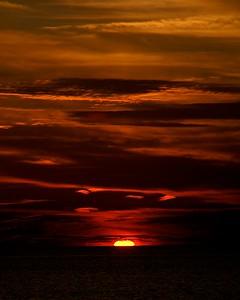 Sunset over Lake Erie, Ohio. 2008
