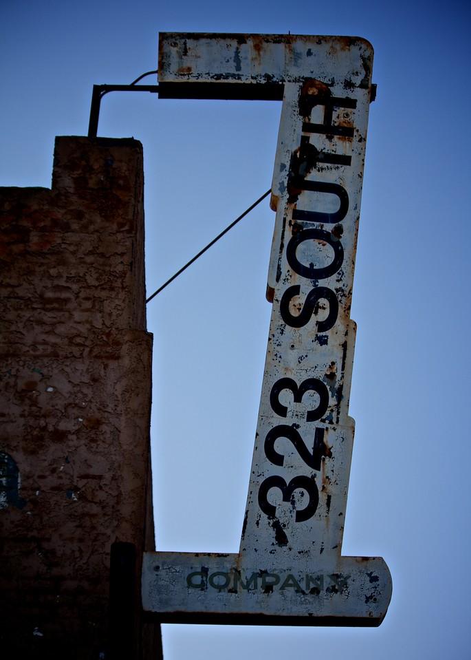 Street sign in Los Angeles, CA.