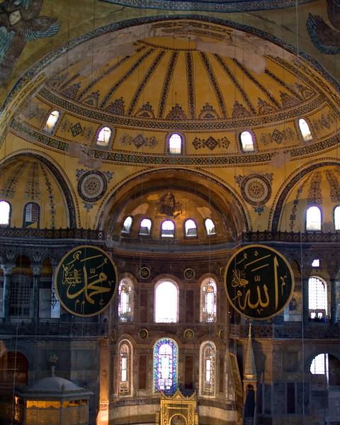 Hagia Sophia, Istanbul, Turkey. 2012