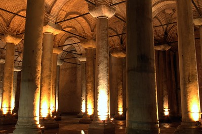 Basilica Cisterna, Istanbul, Turkey. 2012