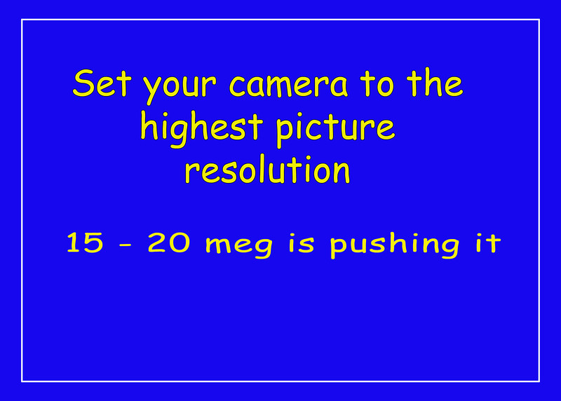camera resolution