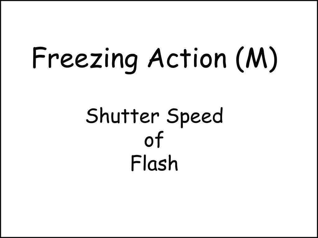 Freezing Action