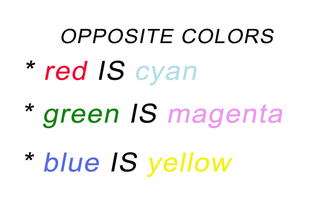 OPPOSIT COLORS