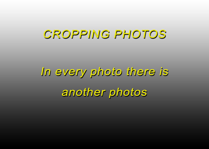 cropping
