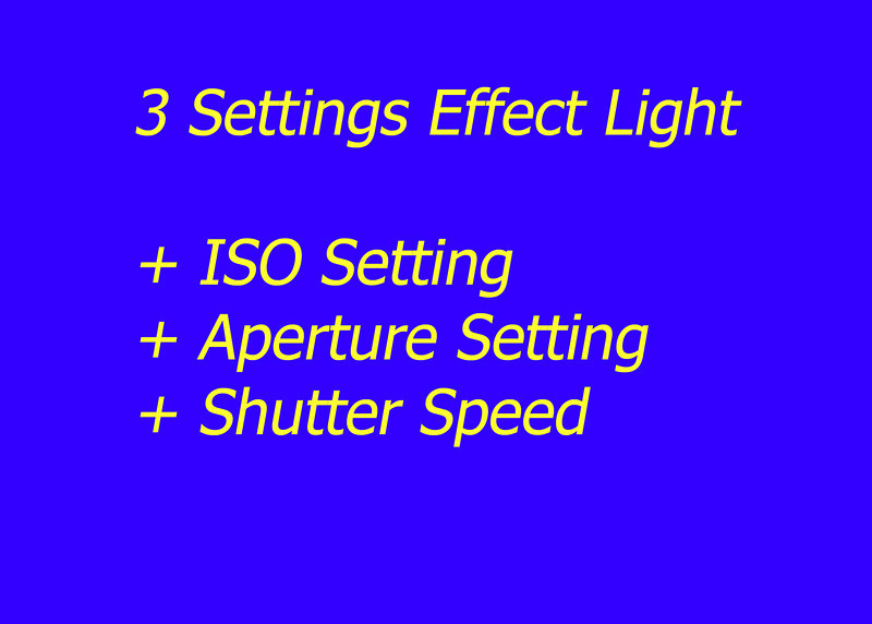 3 setting effect light