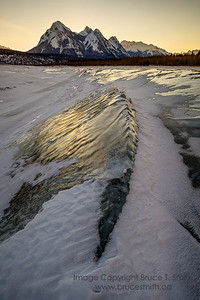 059 Sunrise on Abraham Lake