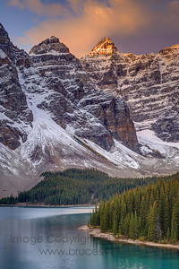 Moraine Lake at first light