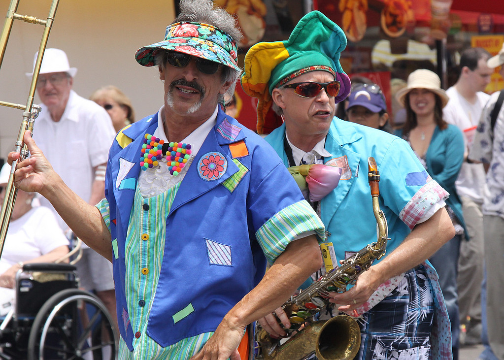 Musicians, Del Mar Fair, July 2009.