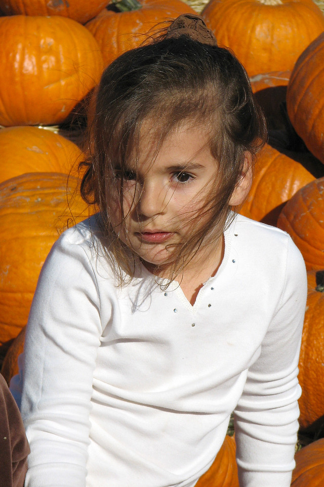 Grand niece Jackie, Bates Brothers Nut Farm October 2007