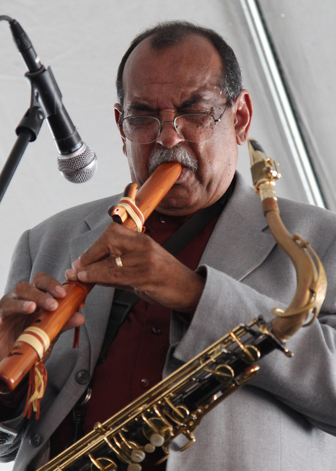 Ernie Watts, OB Music Festival, fall 2010