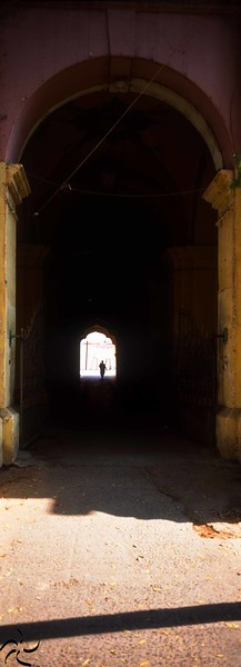 Tamil Nadu - Thanjavur - Palace Entrance