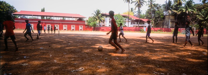 Kerala - Fort Kochi - Football game