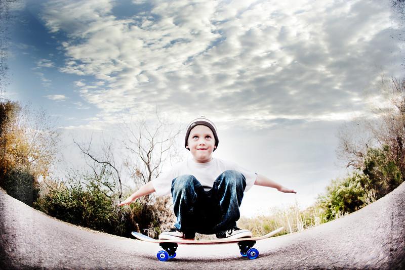leviskateboard-3Rwithclouds